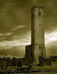 Old tower (macieklew) Tags: old blue sky friedhof cemeteries cloud brick tower heritage church cemetery grave graveyard grass yellow stone wall architecture death sadness scotland aperture sandstone ruins die sad christ cross cathedral god stones decay bricks cementerio property crosses monk visit stack graves architectural historic christian whole burial standrews cemitrio visiting burying derelict protestant necropolis stacked died ruined cementery relic cimetire derelictbuildings cementerios cementeries historicbuilding cemitrios burials cimiteri cimetires friedhoefe katholic i500 scoreme44 cimiteris diamondclassphotographer
