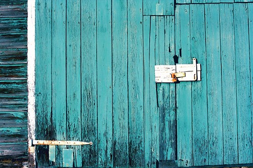 The Famous Teal Barn