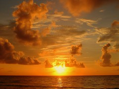 Good Morning Starshine (mtchm) Tags: sea orange clouds sunrise mexico sand bravo riviera maya wind yucatan sable tulum mexique nuages gringo quintanaroo nuebes specsky abigfave anawesomeshot
