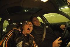 being dorks (bkusler) Tags: sanfrancisco car vw golf eric tab cmp bk drk