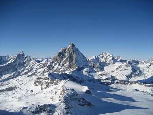 Matterhorn (VS/I - 4`478m) bei Zermatt! , Kanton Wallis , Schweiz