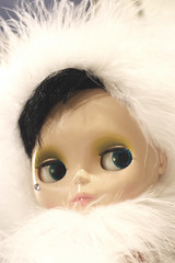 Two thousand and Seven. (ansy) Tags: white snow cold fur 50mm furry dressup newyear gucci lookatme blythe kiss2 blythedoll lounginglovely kiss3 kiss1 kiss4 itspartytime snowwhitelike yupgucciisthenameofmyblythedoll andyupihaveadoll