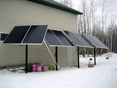 Four PV arrays