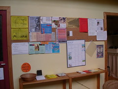 Gent Centre noticeboards