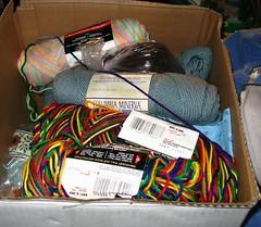 heirloom yarn and fabric