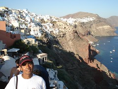 Oia, Pulau Santorini, Greece