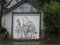garage graffiti
