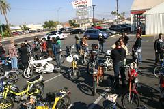 Pit Stop (trashbagentrepreneur) Tags: moped creatures loin sausagefest1