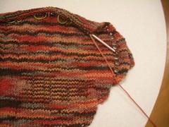 2007-01-05 066 (chrisq38) Tags: knitting knitty clapotis artyarns