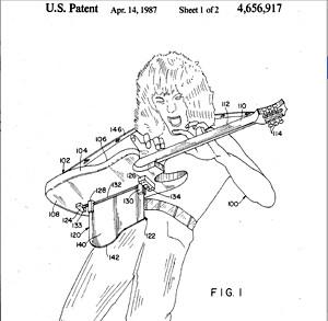 Van Halen...in patent form