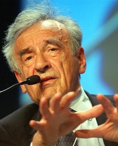 Elie Wiesel - World Economic Forum Annual Meeting Davos 2003. Photo: World Economic Forom, flickr