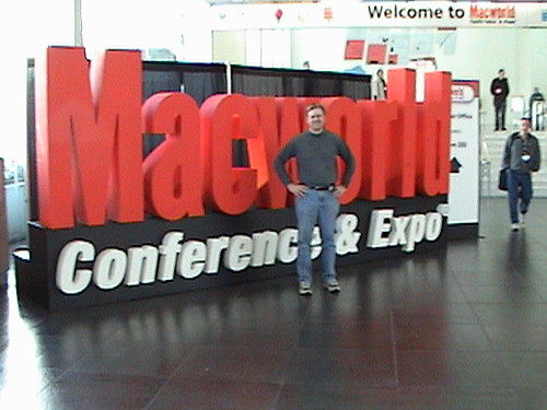 Here at MacWorld 2007! by Wesley Fryer, on Flickr
