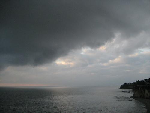 storm flirts with Malibu