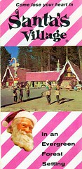 Santa's Village Brochure (bayswater97) Tags: california santa vintage retro amusementpark 1960s brochure lakearrowhead santasvillage