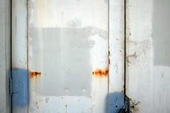 blue balance (Dill Pixels (THE ORIGINAL)) Tags: sanfrancisco door hinge old blue orange tourism metal museum rust paint decay steel military marin cement rusty bunker bayarea base crusty decommissioned ggnra fortbaker goldengatenationalrecreationarea