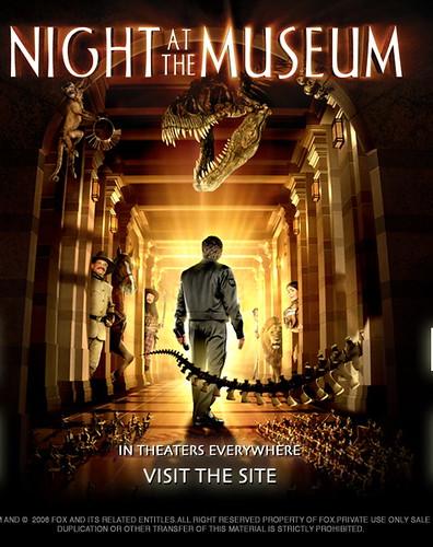 poster de Una noche en el Museo