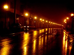 wet road and the night (ozgurum) Tags: road night explore dzce