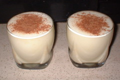 low-carb egg nog
