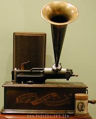 Phonogalerie, Phonograph Edison 1901 10 rue Lallier 75009 Paris