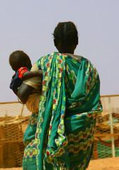 woman and baby (LindsayStark) Tags: africa travel people women war sudan conflict humanrights humanitarian displaced idpcamp refugeecamp idps idp humanitarianaid emergencyrelief idpcamps waraffected