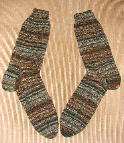 Gentlemen's Plain Winter Socks complete!