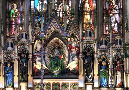 Reredos, Holy Trinity, Skipton