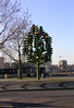 Christmas Traffic Light Sculpture