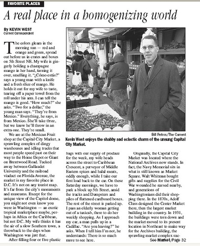 Current story about Florida Market by Kevin West, page 1 (12/13/2006)