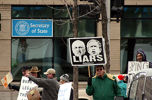 Grand Rapids Iraq War Protest Liars