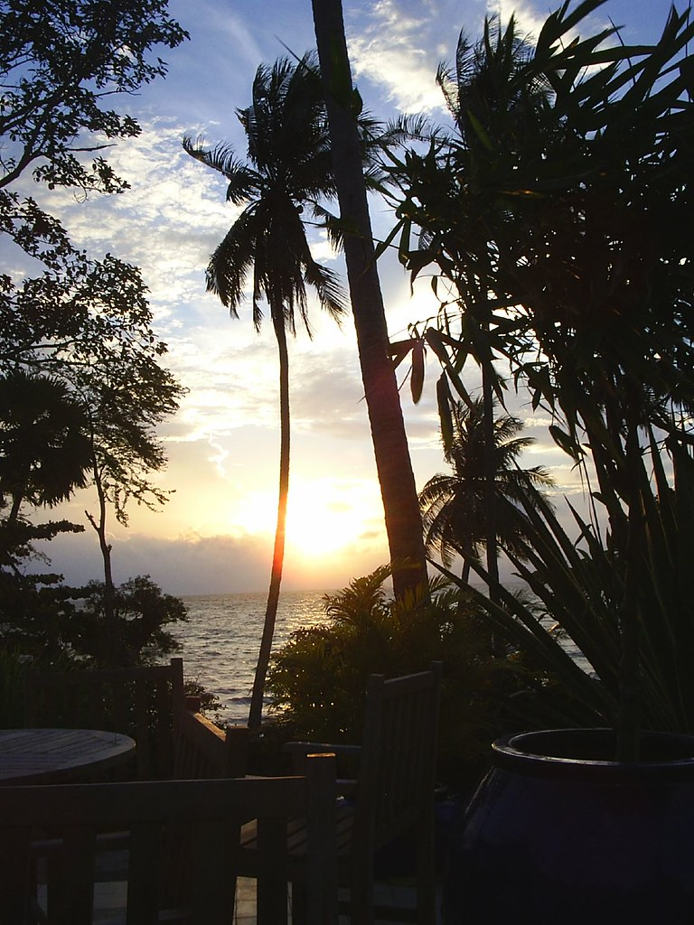 Sunset from Kep