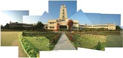 Fragmented in Time (Kavikrut) Tags: bits pilani birla clock tower panograph collage campus institute university india kavi