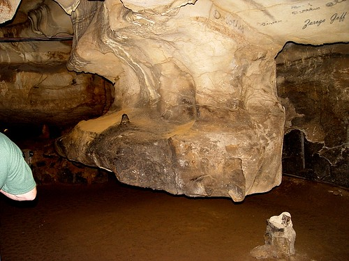 Sequoyah Caverns - Elephant's Foot Formation