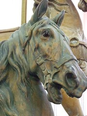 Carousel Horses produced by the Dentzel Company of Philadelphia Pennsylvania 1867-1928 (6) (mharrsch) Tags: horse oregon carousel amusementpark merrygoround hoodriver internationalmuseumofcarouselart