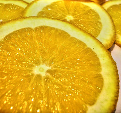 HDR Orange Slices (.emily.) Tags: orange macro fruits yellow closeup fruit juicy slice pile citrus oranges sliced sour fruity hdr slices orangeslices