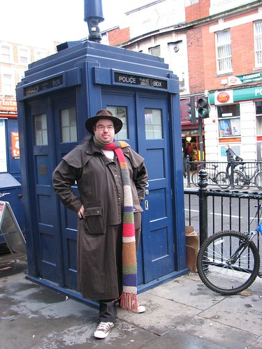 Flickr: Great Beyond - Tardis and Me