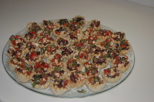 Tomato-Olive Appetizers