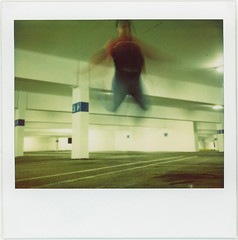 garage jump (poopoorama) Tags: selfportrait film me 510fav polaroid washington jump garage parking danny spectra bellevue day38 bellevuesquare spectrapro 365days 365icon 365explored utatajumps flickr:user=poopoorama 365icon317