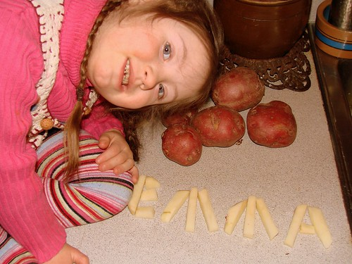 Potato letters.....