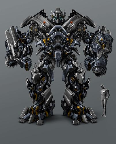 Ironhide como robot