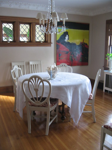 Dining Room re-imagined, February, 2007,house, interior, interior design