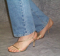 gold and blue2 (houttb) Tags: sandals strappysandals highheeledsandals