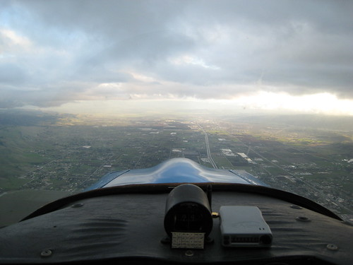 Departing Reid Hillview Toward South County