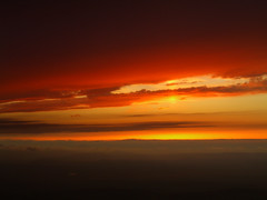 Orange Sky (ehpien) Tags: sunset 2006 casio naturesfinest splendiferous specsky anawesomeshot goldenphotographer