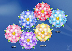 "New Desktop-Icon Set ""Spring Flowers"""
