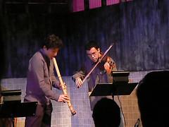 Ko Umezaki and David Colwell at Technosonics VII