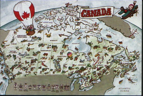 map of canada for kids printable. and us map printable label