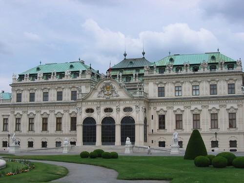 טירת בלוודר, וינה, אוסטריה