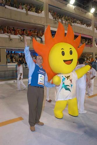 Cauê Mascote do Pan 2007 Cesar Maia Saoucaí