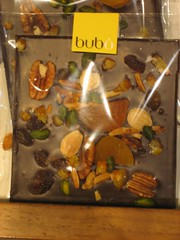 Bubó chocolate bar
