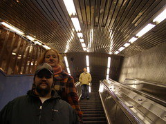 the long descent down to the subway. (liam.cubbin) Tags: hospital subway ruin pepsi rooseveltisland smallpox blackwellsisland 59thstbridge renwickruin